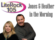 Jones and Heather in the Morning LiteRock105